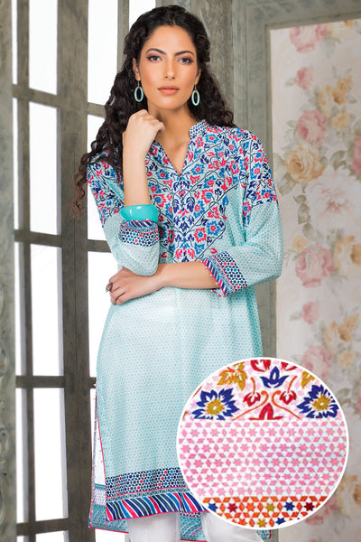 Pink 1 Pc Printed Lawn Single SL-246 B