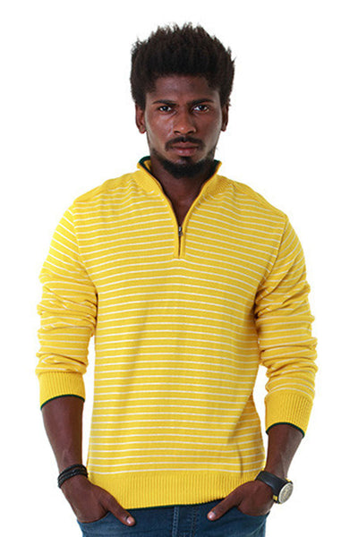 Yellow Full Sleeves Sweater - FS-SWT-F-D11-2