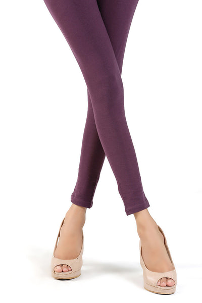 Purple Jersey Tights - TR-15-55