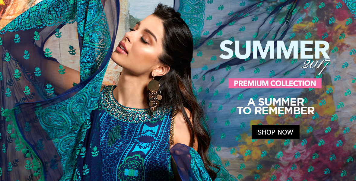Gul Ahmed Summer 2017 Essential Collection Vol 1