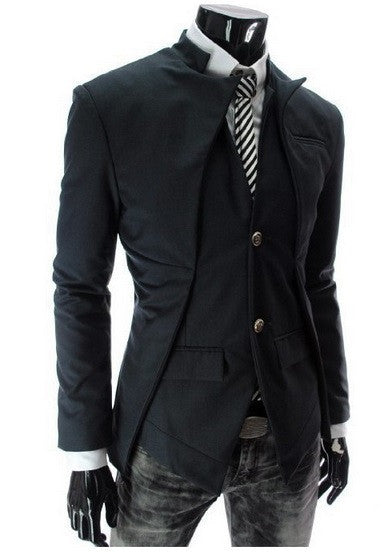NEW! Men's Trend Setting Lapel Blazer - Hot100Fashions