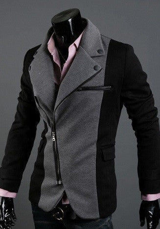 Men's Two-Tone Luxury Jacket - Hot100Fashions
