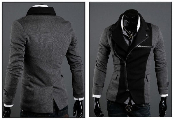 Men's Two-Tone Luxury Jacket