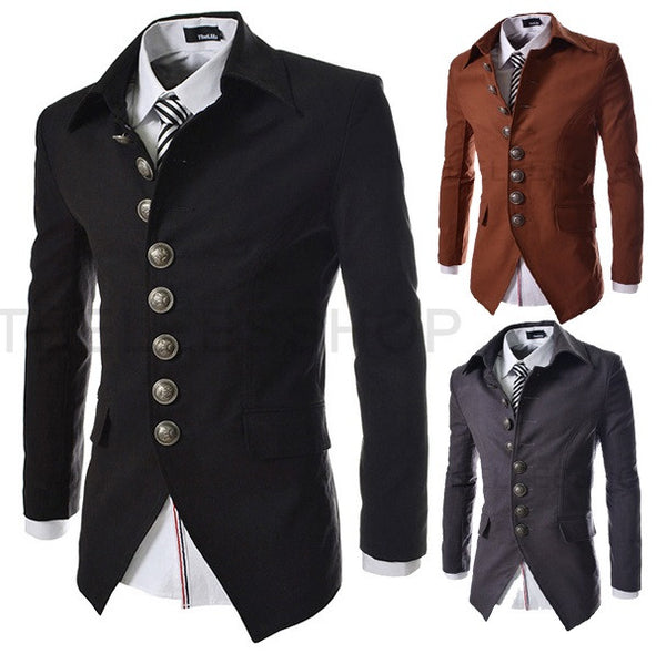 Men's Business Jacket - 3 Colors! - Hot100Fashions