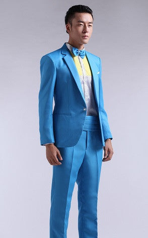 Men\'s Party Prom Tuxedo- 5 Colors! - Hot100Fashions