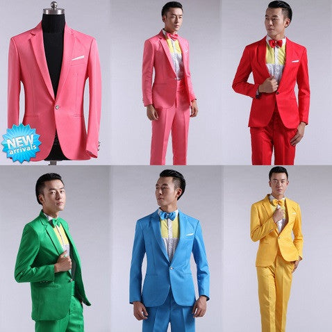 Men's Party Prom Tuxedo- 1 Jacket & 1 Pants! - Hot100Fashions