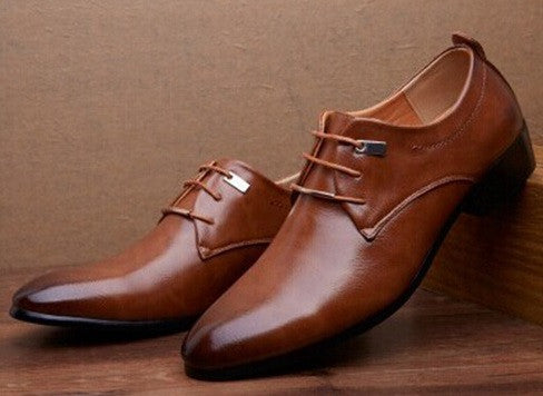 Men's Leather Quality Oxford Shoes - Hot100Fashions