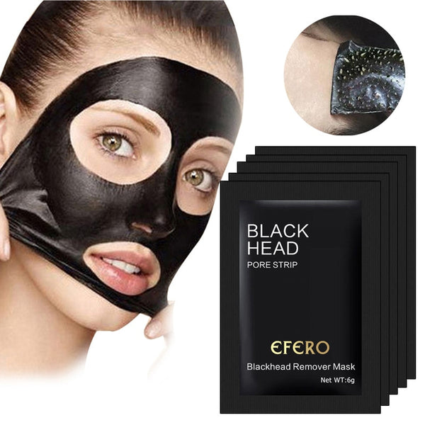 Black Bamboo Charcoal Blackhead Remover Face Mask