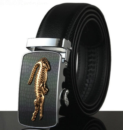 Men's Luxury Gator Belt - 9 Designs - Hot100Fashions