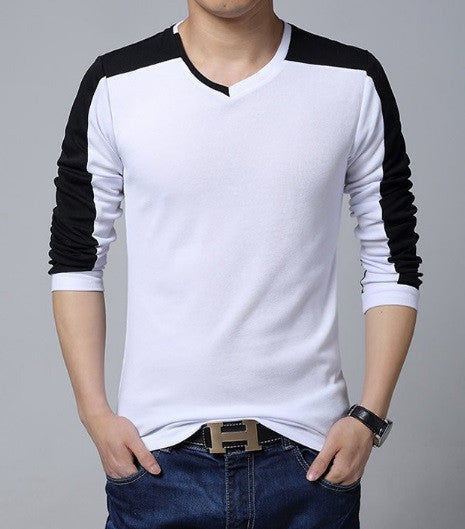 Men's Quality Long Sleeve V-Neck - 3 Colors! - Hot100Fashions