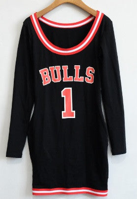 Chicago Bulls Sexy MINI DRESS