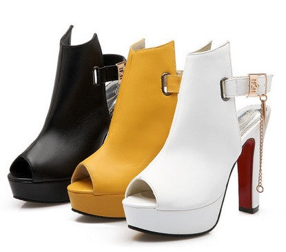 Women's Designer Platform Pumps - 3 Colors!