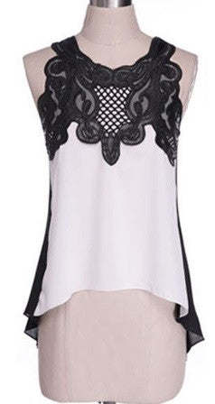 Women's Designer Sleeveless Blouse