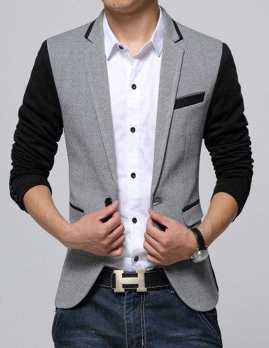 Men's Two-Tone Blazer - 6 Colors! - Hot100Fashions