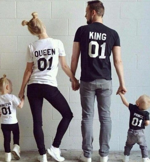 King & Queen Couples Shirt - Hot100Fashions