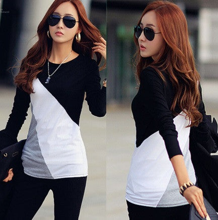 Women's Casual Long Sleeve Blouse