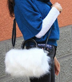 Women's Fur Purse - Crossbody Bag - 2 Colors!