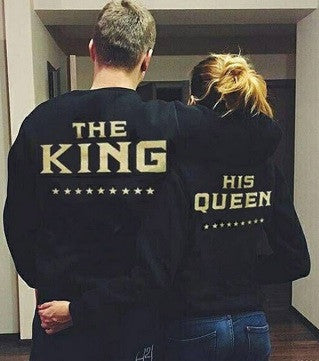King & Queen Sweatshirts