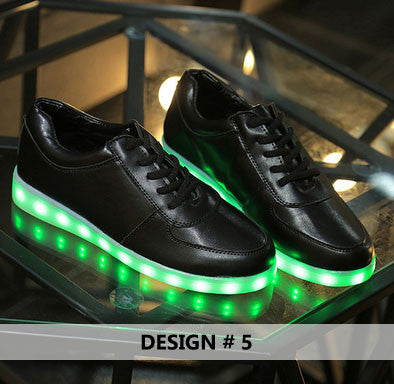 Light Up Shoes For Women, 8 Colors in 1 Re-Chargeable. - Hot100Fashions