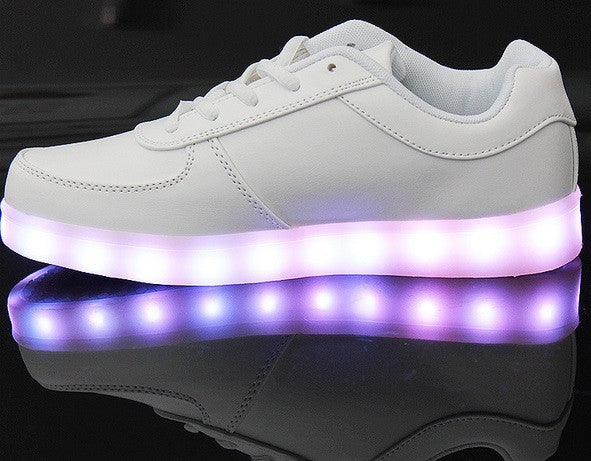 Light Up Shoes For Women, 8 Colors in 1 Re-Chargeable.