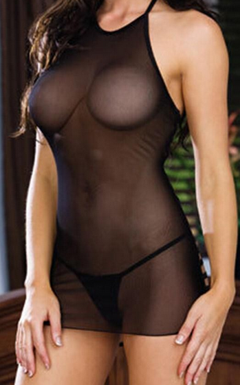 Lingerie pic see through