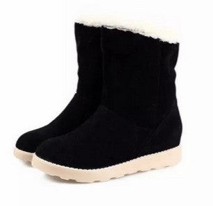 Thick Velvet Rabbit Fur Boots