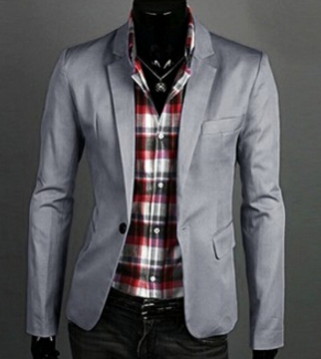 Men's Casual Blazer Suit Jacket - 8 Colors!