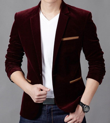 Men's CORDUROY Casual Blazer - 4 Colors!