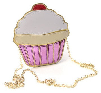 Cupcake Shoulder Bag Purse - Hot100Fashions