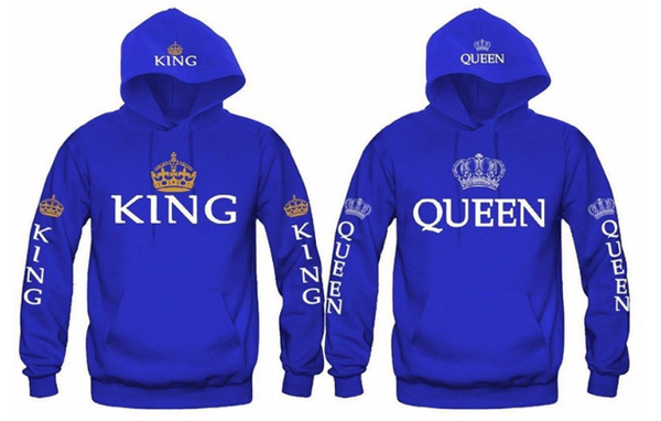 King or Queen Hoodies