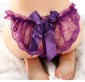Women's Bow Knot Lace Panties - 5 Colors!