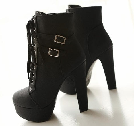 Women's Elegant High Heel Boots