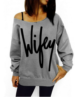 Women's Wifey Sweater