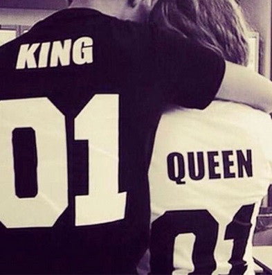 King & Queen Couples Shirt