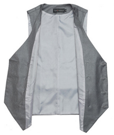 Men's Double Breasted Formal Suit Vest - 2 Colors!