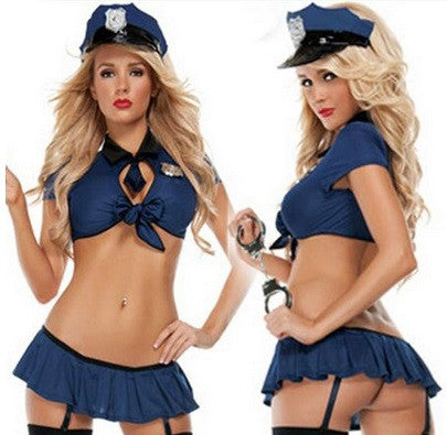 Women's Seductive Police Uniform