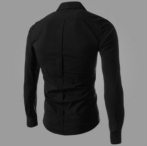 NEW! Men's Unique & Stylish Long Sleeve Design - Hot100Fashions