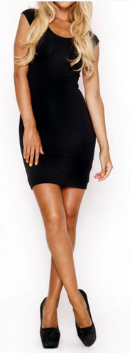 Women's Backless Bandage Party Dress