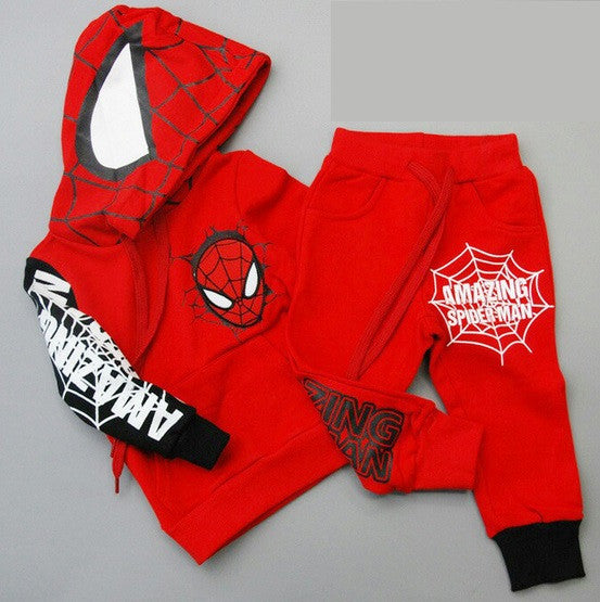 Amazing Spiderman Suit With Hoodie & Pants - Hot100Fashions