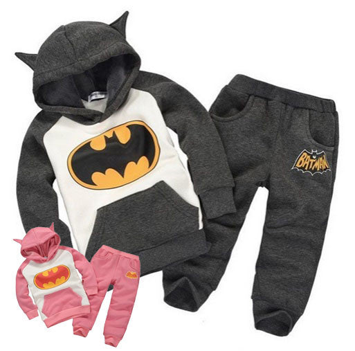 Children's Batman Jumpsuit Hoodie & Pants - Hot100Fashions