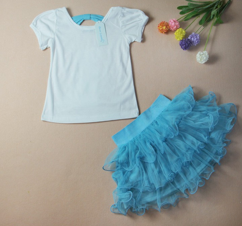 Girl's Two Piece Princess Dress