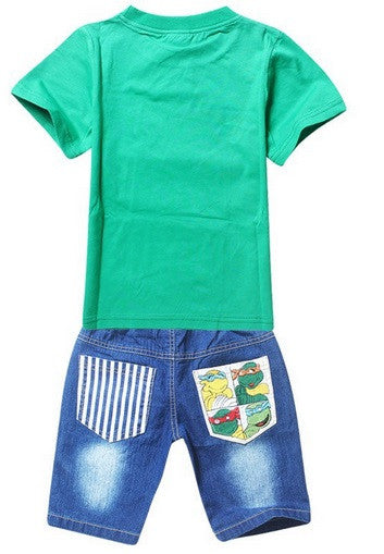 Teenage Mutant Ninja Turtles T-Shirt & Denim Shorts