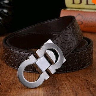 Men's Genuine Leather Designer Belt High Quality Luxury - Hot100Fashions