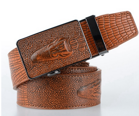 Men's Crocodile Automatic Locking Belt - Hot100Fashions