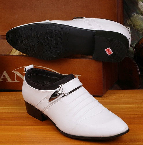 Men's Formal Pointed Toe Dress Shoes - Hot100Fashions