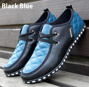 Men's NC Blue Trend Fashion Sneakers - Hot100Fashions