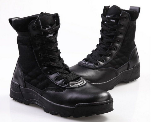 Men's Tactical Police & Military Boots