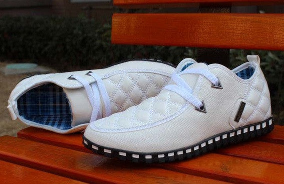 Men's Sneakers Daily Casual Light Sports Shoes Sneakers White/White - Hot100Fashions