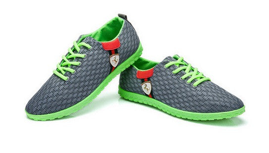 Casual Breathable Mesh Sneakers Running Sports Men Shoes - Hot100Fashions