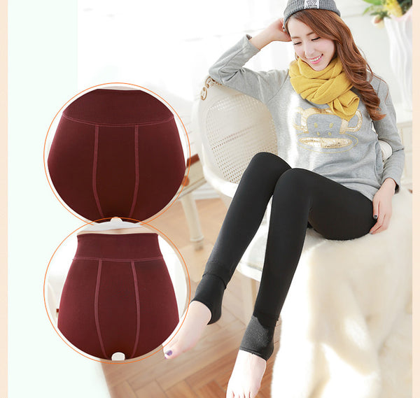 Winter Leggings Thick Velvet Warm Cashmere Leggings